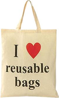 Earth Safe Cotton Reusable Carry Bag
