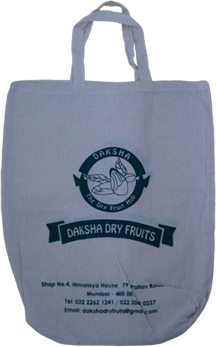 Dry Fruit Cotton Bag