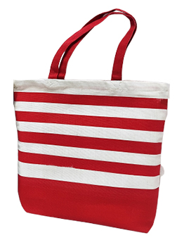 Striped Handbags - Earth Safe