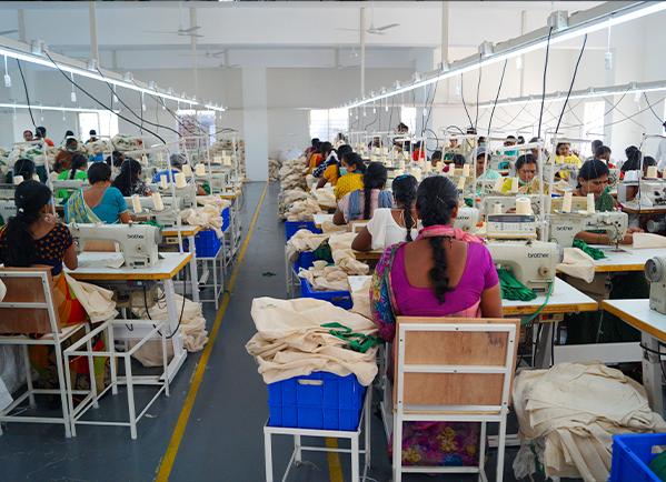 Spinning Cotton Bag