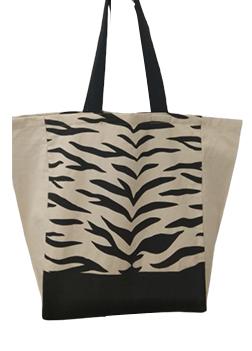 Black Stripe Bags