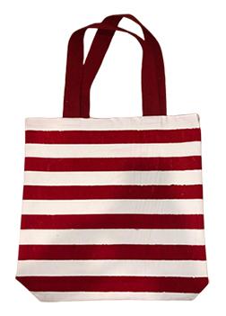 Red Stripe Handbags - Earth Safe